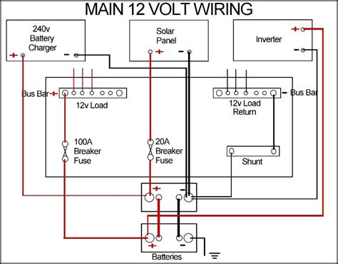 12v Boat Wiring Diagram by New Leisure Batteries And Wiring Tidy Up