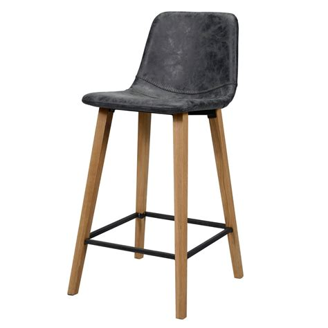chaise de bar noir chaise de bar industrielle 70 cm tabouret de bar