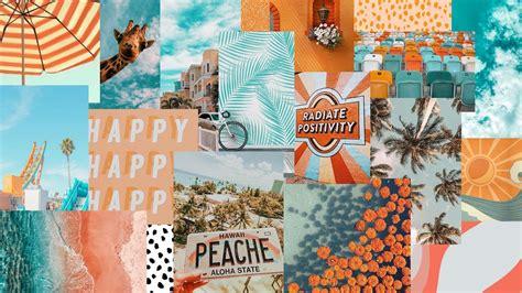 aesthetic collage wallpaper laptop computer wallpaper