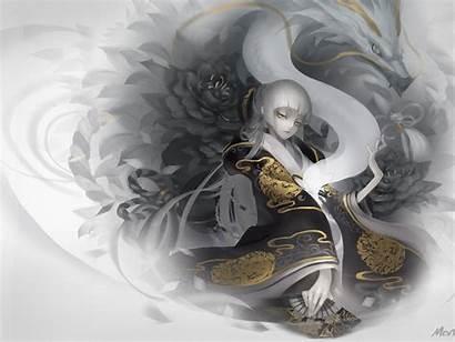 Dragon Anime Japanese Wallpapers Spirit Dragons Eyes