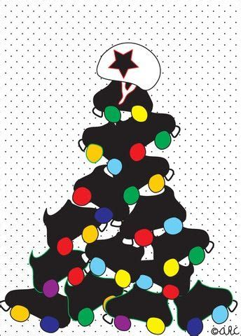 christmas roller derby tree skates derby pinterest