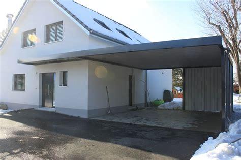Moderne Häuser Mit Carport by Carport Vordach Ohne Pfeiler H 228 User Car