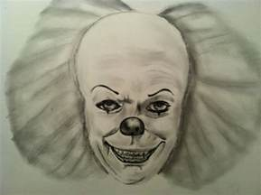 Easy Pencil Drawings Clown