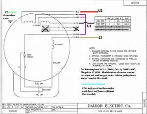 Baldor Industrial Motor Wiring Diagram Collection
