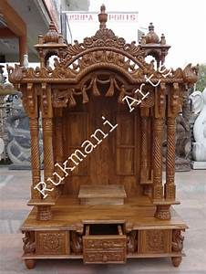 Code 65 Wooden Carved Teakwood Temple Mandir Furniture