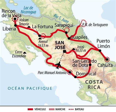 Itineraire Voyage Costa Rica Liberte