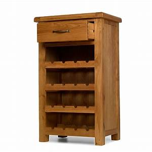 rushden solid oak furniture small wine bottle cabinet rack With home furniture outlet rushden