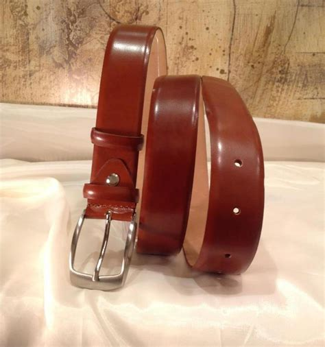 Italian Cowhide Leather by Italian Brushed Cowhide Leather S Belt Brown Belts
