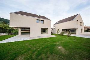 Split Level Haus : split level mit satteldach schweizer wohnh user von dolmus houses saddle roof s modern ~ Buech-reservation.com Haus und Dekorationen