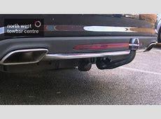 Mercedes CLS Westfalia towbar YouTube