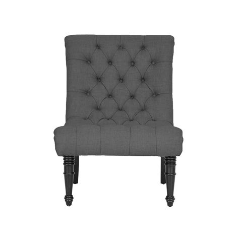 baxton studio caelie gray fabric accent chair 28862 4160