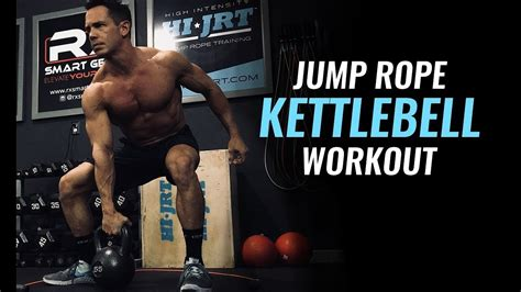 rope jump workout kettlebell interval training