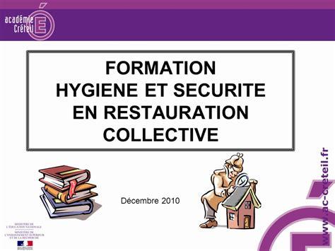 Formation Hygiene Et Securite En Restauration Collective