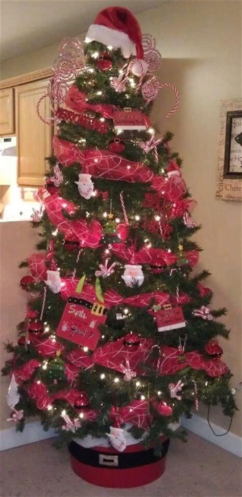 our 2012 santa themed christmas tree christmas christmas