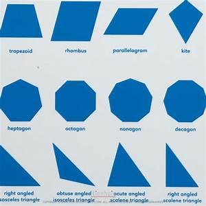 Geometric Cabinet Control Chart Montessori Spirit