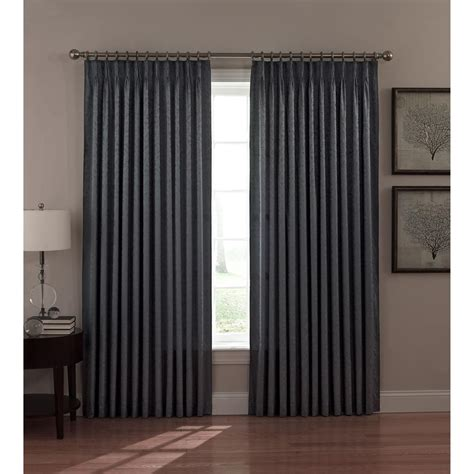 al ellis dover pinch pleat thermal insulated curtains