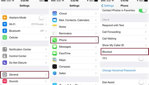 16734 blocking phone numbers on iphone how to block a phone number on your iphone technobezz 16734