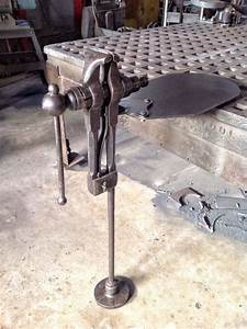 Kustomsteel  Finished The Rebuild Of A Post Vise A Friend