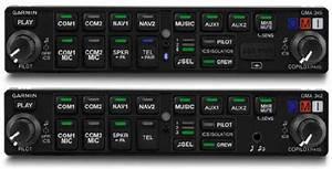 Garmin Introduces Gma 345  342 Audio Panels