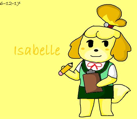 Isabelle Animal Crossing Wallpaper - isabelle animal crossing by goldenpuppy14 on deviantart
