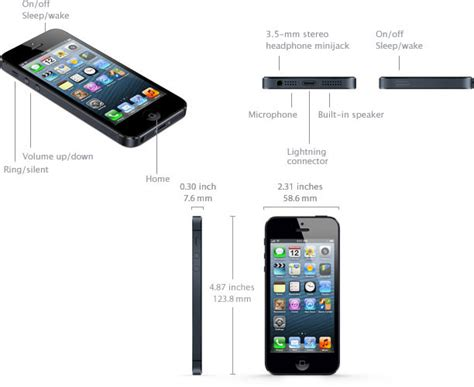 iphone 5 resolution iphone 5 specifications specs in detail imore