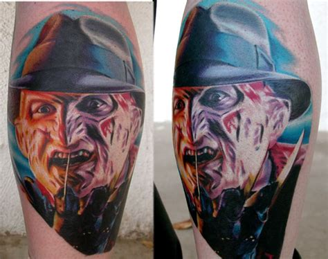 nightmare  elm street tattoo picture wes craven horror