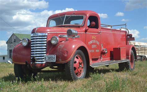 mileage  gmc fire truck