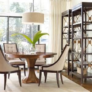 furniture dining room round glass top dining table with