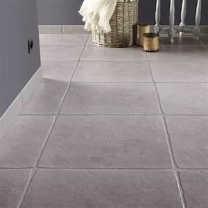 Pierre Et Sol : carrelage sol et mur gris effet pierre toscane x ~ Melissatoandfro.com Idées de Décoration