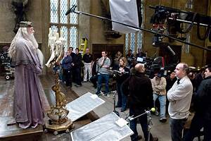 New Photo: Behind the Scenes of Harry Potter and the Half ...