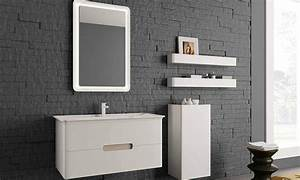 cuisine meuble salle de bain double vasque inda soft With modele vasque salle de bain