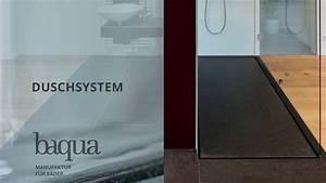 Bodengleiche Dusche Gefälle : baqua duschsystem bodengleiche dusche ohne gef lle youtube ~ Eleganceandgraceweddings.com Haus und Dekorationen