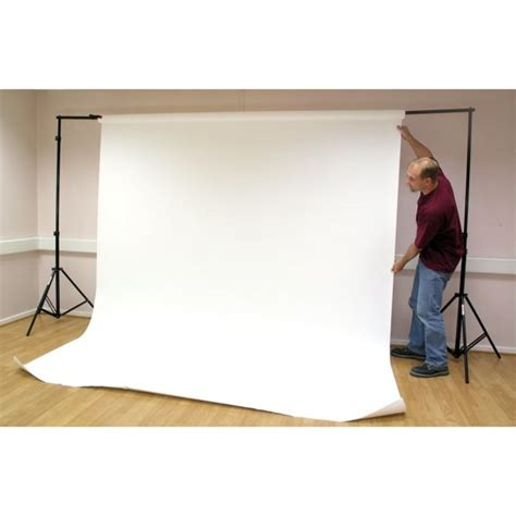stage  photography backdrop stand   arctic white