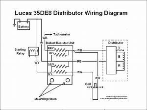 Install Tachometer  Rvc  With Lucas 35de8  Opus