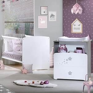 pack promo ensemble lit bebe evolutif 140x70 commode a With déco chambre bébé pas cher avec livraison fleur pas cher a domicile
