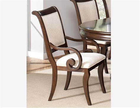 coaster 2 formal rich cherry wood side chairs fabric seat