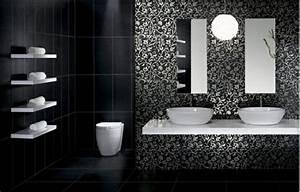 Salle De Bain Noire Et Blanche : la couleur salle de bain 15 id es pour vous inspirer ~ Melissatoandfro.com Idées de Décoration