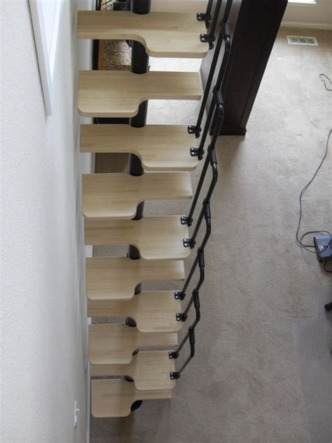 loft ladder contemporary staircase portland