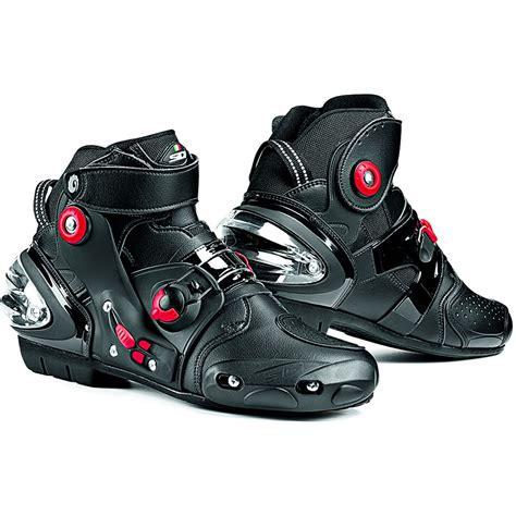 motorbike footwear sidi streetburner motorcycle boots short ankle street