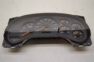 07 Chevy Kodiak Instrument Panel Gage 94669670