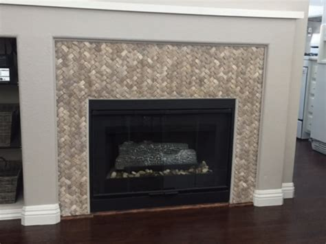 Lining Fireplace Surround Tile For Beautiful Exterior