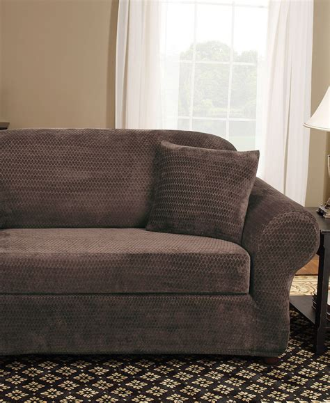 sure fit sofa slipcover 2 sure fit stretch royal 2 sofa slipcover