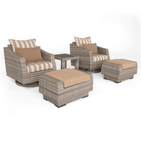 rst brands cannes 5 all weather wicker patio motion