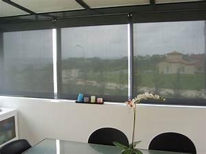 Store De Veranda Interieur : stores int rieurs de protection solaire perspective v randa ~ Voncanada.com Idées de Décoration