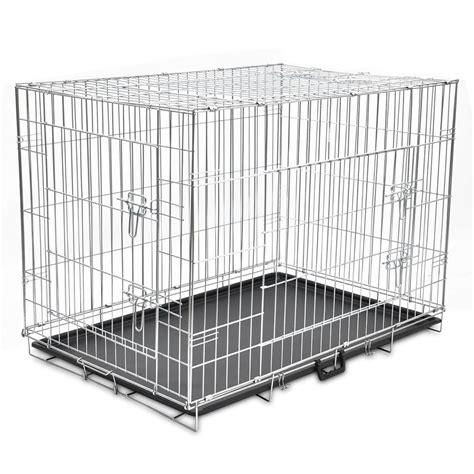 gabbia per cani aereo articoli per gabbia per cani pieghevole xl vidaxl it