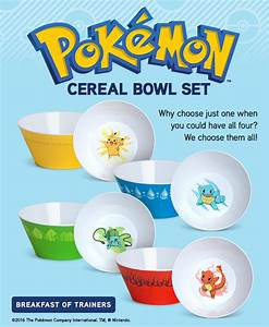 pokemon bowl of cereal images