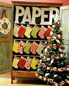 Crafts for Christmas paper stockings Paper Source Blog