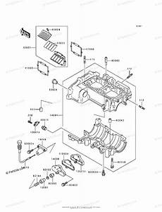 Kawasaki Jet Ski 1994 Oem Parts Diagram For Crankcase