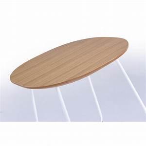 Bout De Canapé En Bois : table d 39 appoint bout de canap design argan en bois et ~ Teatrodelosmanantiales.com Idées de Décoration