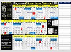 Chinese Lunar Calendar 2018 2019 calendar template